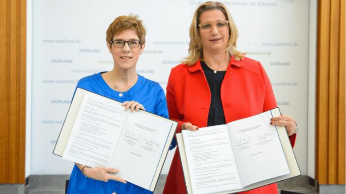 AKK_Rehlinger_Koalitionsvertrag